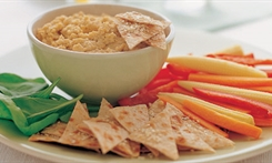Hummus with Crisp Vegetables