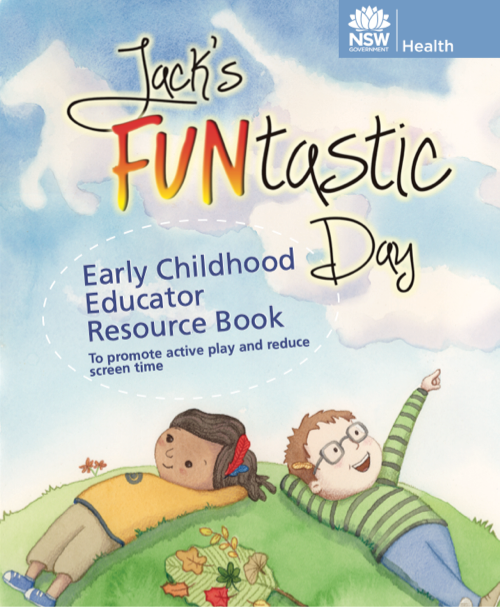 Jack's FUNtastic Day Educator Resource cover