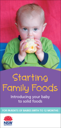 Starting Family Foods brochure